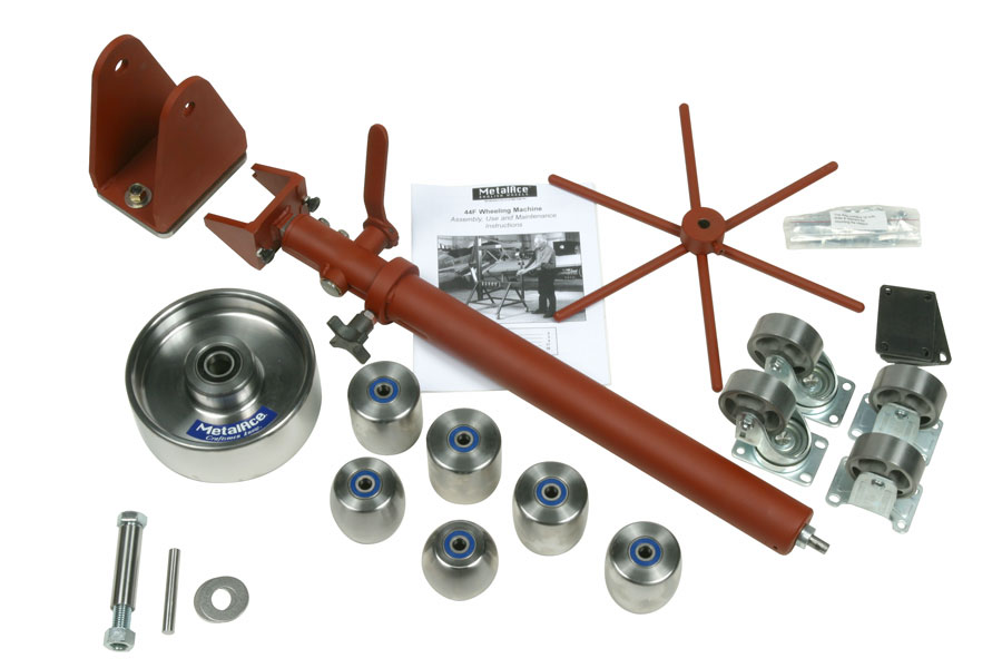Ma44f Uw Metalace U Weld Kit For 44 Quot Throat English Wheel